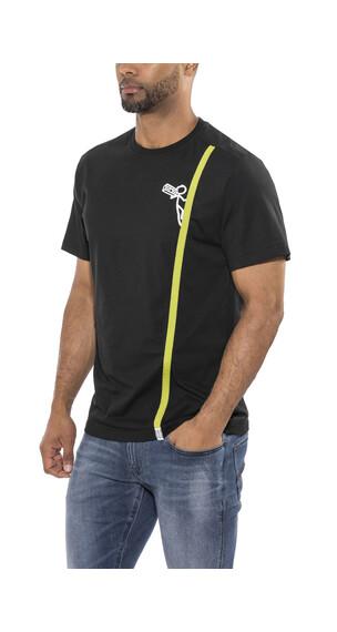 Edelrid Rope t-shirt Heren zwart